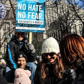 Solidarity March: No Hate. No Fear.